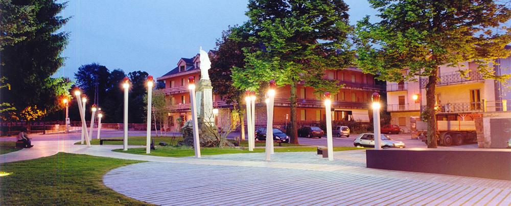 Piazza dei fiammiferi – Calizzano (SV) - 1999